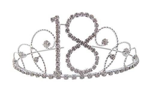 Pick A Gem 18th Tiara 18th Birthday Crown 18th Birthday Gift Crystal Tiara